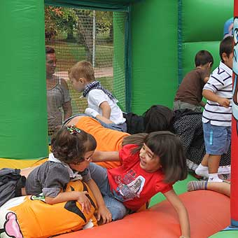 Parque infantil navidad vitoria
