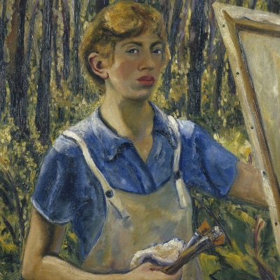 'Lee Krasner. Color Vivo' en Bilbao